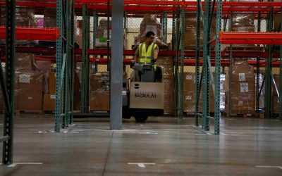 While COVID-19-Driven Online Sales Soar, Supply Chain Workers Suffer. Here's a Solution: AI-Enabled Safety for Forklifts